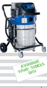 Large Wet and Dry Industrial Vacuum Cleaner - Nilfisk Attix 965-21 SD XC