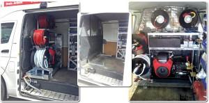 Van/ Truck Drain Jetter